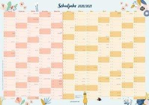 Der Schuljahres-Wandkalender 2020/2021