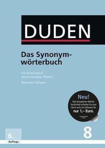 Duden 8. Das Synonymwörterbuch