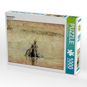 Summertime 1000 Teile Puzzle quer
