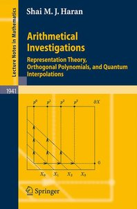 Arithmetical Investigations