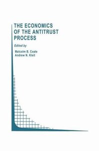 The Economics of the Antitrust Process