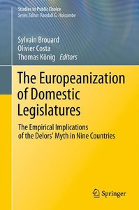 The Europeanization of Domestic Legislatures
