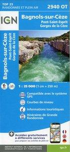 2940OT Bagnols-sur-Cèze.Pont-St-Esprit..Forêts de Valbonne et de