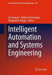 Intelligent Automation and Systems Engineering