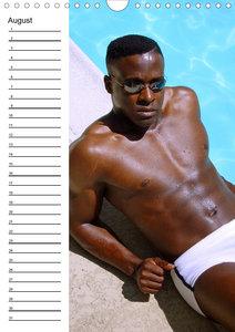 Männer sinnlich und sexy (Wandkalender immerwährend DIN A4 hoch)