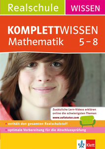 KomplettWissen Realschule Mathematik 5-8
