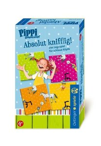 Pippi Langstrumpf Legespiel Absolut knifflig