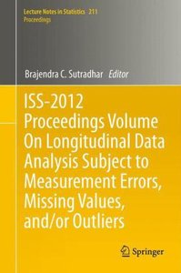 ISS-2012 Proceedings Volume On Longitudinal Data Analysis Subjec