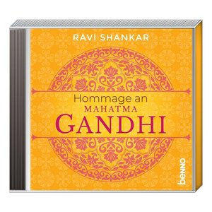 Hommage an Mahatma Gandhi, 1 Audio-CD