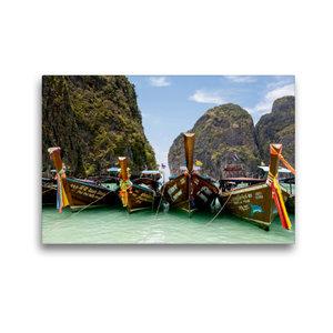 Premium Textil-Leinwand 45 cm x 30 cm quer Phi Phi Insel
