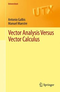 Vector Analysis Versus Vector Calculus