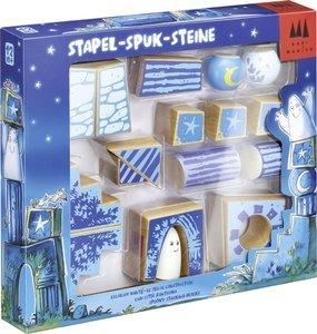 Stapel-Spuk-Steine - Holz