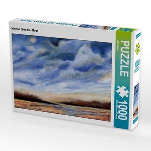 Himmel über dem Moor 1000 Teile Puzzle quer