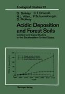 Acidic Deposition and Forest Soils