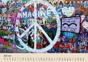 PRAG... wo der Frieden seine Mauer hat (Tischkalender 2019 DIN A