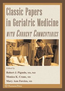 Classic Papers in Geriatric Medicine