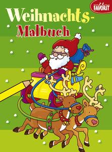Weihnachts-Malbuch