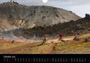Bike Abenteuer Island (Wandkalender 2020 DIN A4 quer)