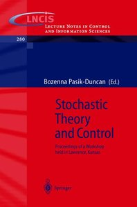 Stochastic Theory and Control
