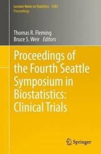 Proceedings of the Fourth Seattle Symposium in Biostatistics: Cl