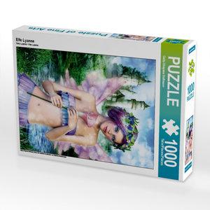Elfe Lyanne 1000 Teile Puzzle hoch