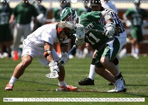 Teamsport Lacrosse - Face-off (Wandkalender 2020 DIN A3 quer)