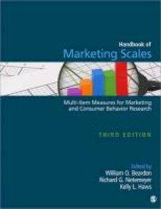 Handbook of Marketing Scales