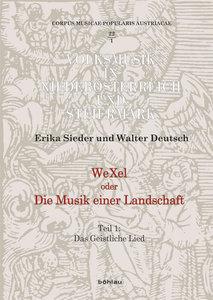 WeXel oder Die Musik einer Landschaft Teil 1