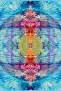 Premium Textil-Leinwand 50 cm x 75 cm hoch Quelle des Wasserfall
