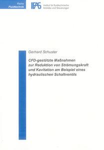 CFD-gestützte Massnahmen zur Reduktion von Strömungskraft und Ka