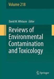 Reviews of Environmental Contamination and Toxicology Volume 218
