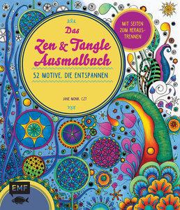 Das Tangle-Ausmalbuch