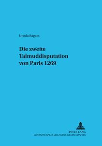 Die zweite Talmuddisputation von Paris 1269