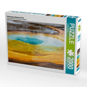 Yellowstone National Park 2000 Teile Puzzle quer