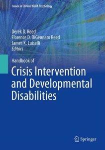 Handbook of Crisis Intervention and Developmental Disabilities