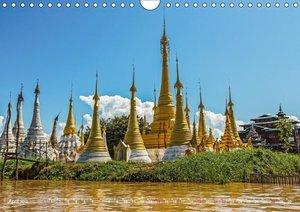 Lebensraum Inle-See in Myanmar (Wandkalender 2019 DIN A4 quer)
