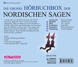 Die große Hörbuchbox der Nordischen Sagen