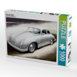 Porsche 356 A 1000 Teile Puzzle quer