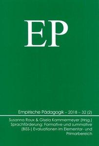 Sprachförderung: Formative und summative (BiSS-) Evaluationen im