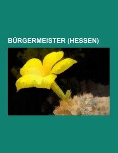 Bürgermeister (Hessen)