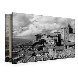 Premium Textil-Leinwand 90 cm x 60 cm quer Volterra