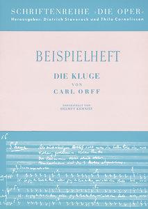 Die Kluge / Beispielheft
