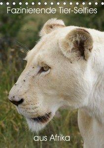 Fazinierende Tier-Selfies aus Afrika (Tischkalender 2020 DIN A5