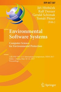 Environmental Software Systems. Computer Science for Environment