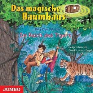 Das magische Baumhaus 17. Im Reich des Tigers. CD