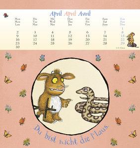 Der Grüffelo. Das Grüffelokind 2018 Postkartenkalender