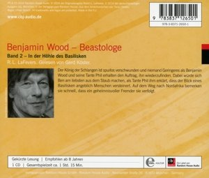 Benjamin Wood - Beastologe 02. In der Höhle des Basilisken