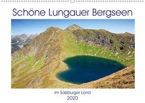 Schöne Lungauer Bergseen (Wandkalender 2020 DIN A2 quer)