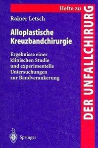 Alloplastische Kreuzbandchirurgie
