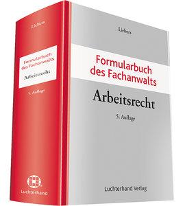 Formularbuch FA ArbeitsR